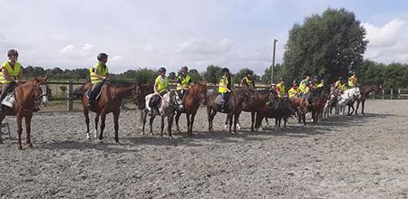 Accueil de groupes au centre équestre près de Steenvoorde et Hazebrouck